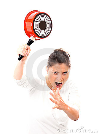 Furious housewife