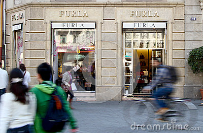 Furla Shop Editorial Stock Image
