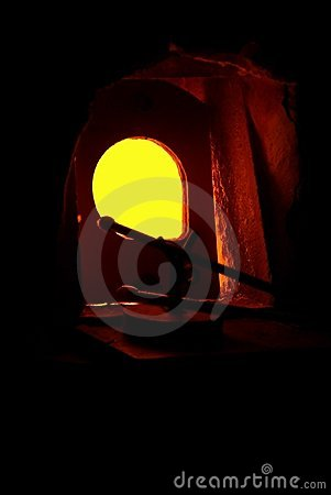 Free Furnace For Melting Glass Royalty Free Stock Image - 18927096