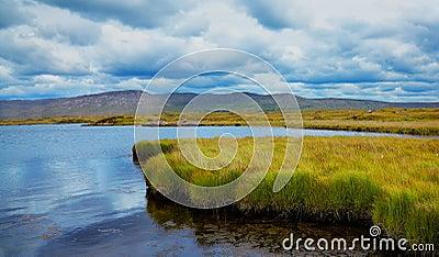 Furnace lake in Ireland