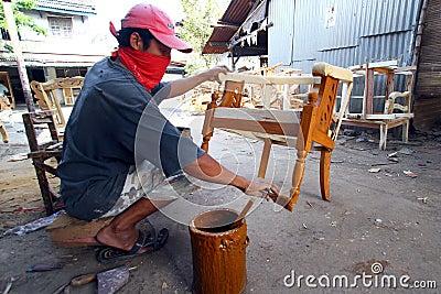 Furniture handicraft