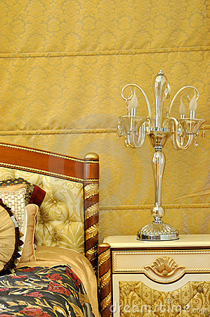 Furniture lamp and bedding