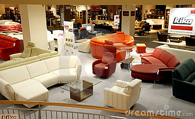 Furniture store Editorial Image
