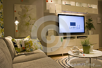 Furniture store Editorial Image