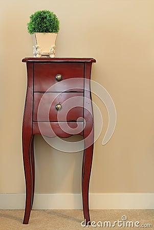 Furniture: wooden dresser