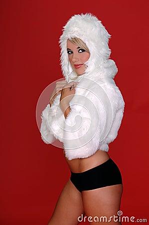 Furry Snow Bunny