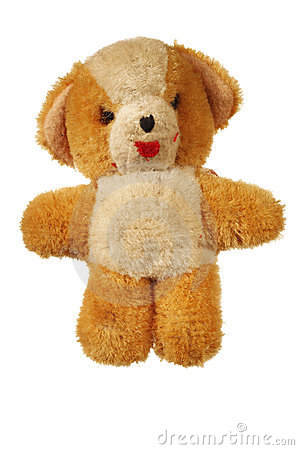 Furry Teddy Bear Royalty Free Stock Photo - Image: 8042135