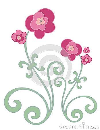 Free Fuschia Flowers Royalty Free Stock Photo - 541685