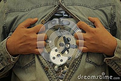 Fuselage-horloge
