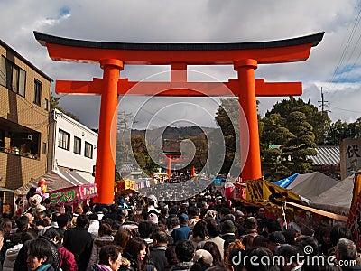 Fushimi Inari Editorial Photography