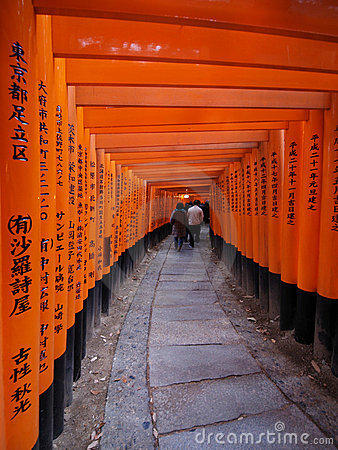 Fushimi Inari Immagine Editoriale