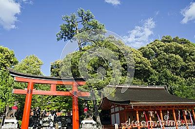 Fushimi Inari Shrine Entrance Editorial Photo