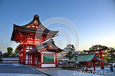 Fushimi Inari Shrine Entrance, Kyoto