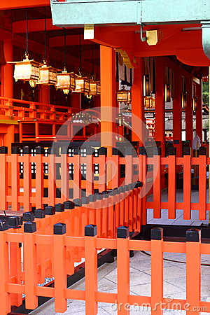 Fushimi Inari Shrine in Japan