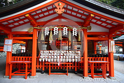 Fushimi Inari Shrine in Japan
