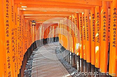 Fushimi Inari Shrine, Kyoto Editorial Photography