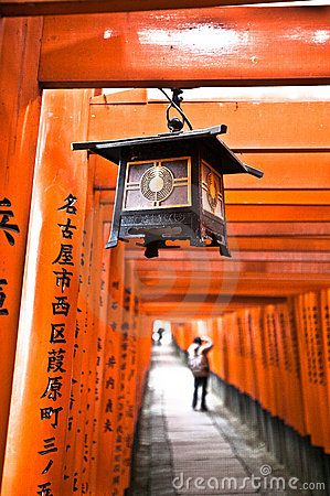 Fushimi Inari taisha-3 Editorial Stock Photo
