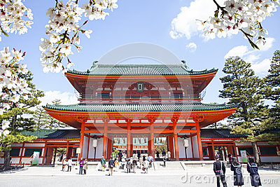 Fushimi Inari Taisha, Japan Editorial Stock Image