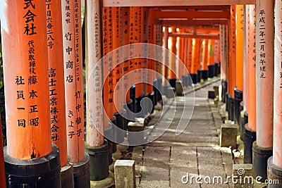 Fushimi inari torii