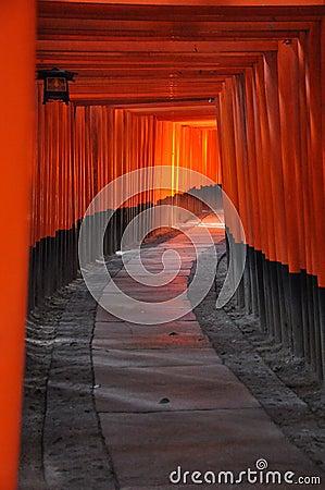 Fushimi Inari Torii Road