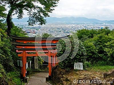 Fushimi Inari w Kyoto