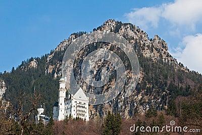 城堡fussen德国neuschwanstein