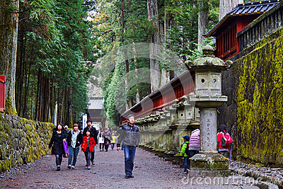Futarasan Shrine, Nikko Editorial Image