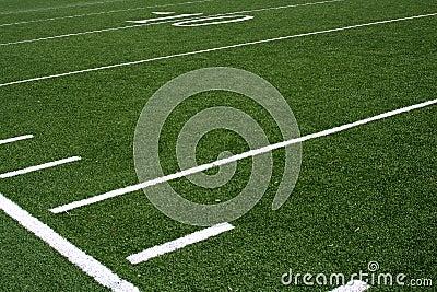 Futbol pola linie ogrodu