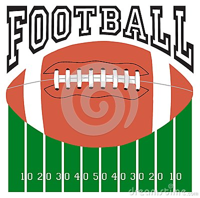 Futbolowy sporta logo