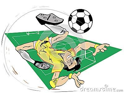 Futebol dos desenhos animados
