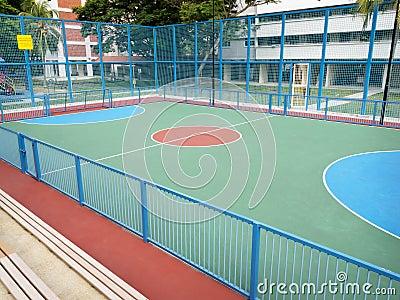 Futsal park in public housing estate