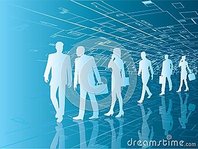 Future business people