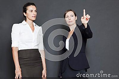 Future business solutions businesswomen