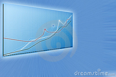 Future business solutions,   modern charts