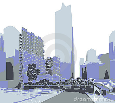 Free Future City Stock Photography - 4562412