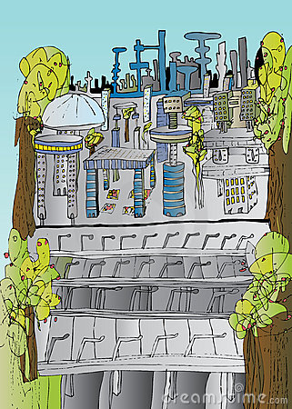 Future City Impression