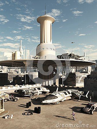 Future City Spaceport