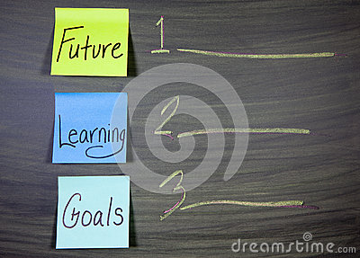 Future learning goals