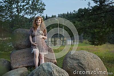 Future redhead mom