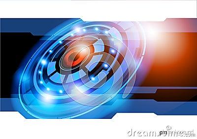 Future Technology Background