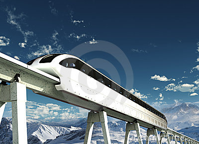 Future Transportation Stock Photo Image 7507130