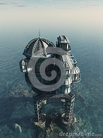 Future World - Sea House