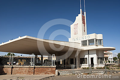 Futurist modernist building in asmara eritrea Editorial Stock Photo