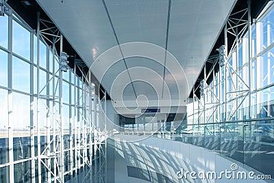 Futuristic Airport