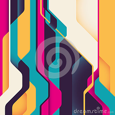 Futuristic background with abstraction.