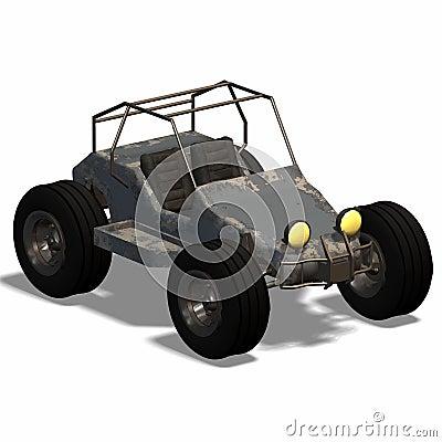 Futuristic buggy