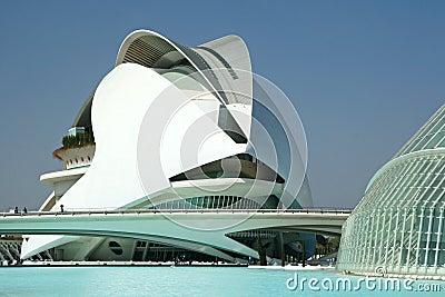 Futuristic building Editorial Photo