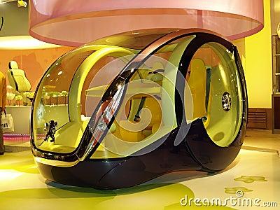 Futuristic Car Editorial Photography