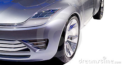 Futuristic Car's Front End 2 Royalty Free Stock Photo - Image: 454095