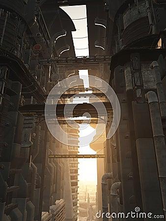 Futuristic City Towers